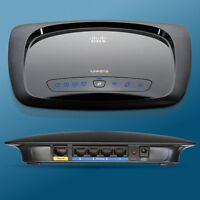 Cisco Linksys WRT120N Router. Used but in new shape only $50 Man