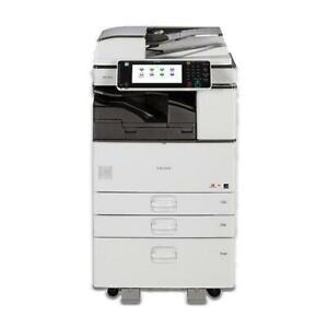 ONLY $1990 Ricoh 11x17 Black and White Laser Multifunction Printer Copier Scanner MP C3053 for 52-157gsm Paper