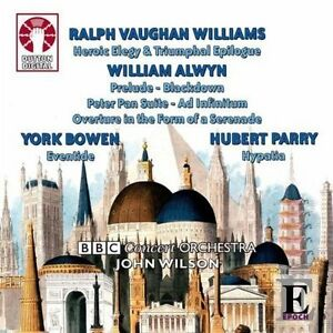 Ralph Vaughan Williams, William Alwyn, York Bowen & Hubert Parry - CDLX7237