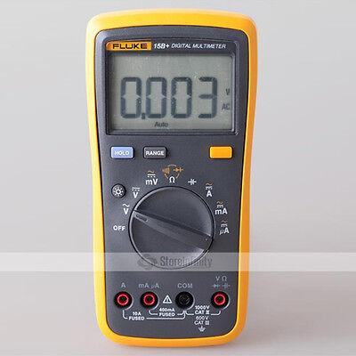 NEW FLUKE 15B+ F15B+ F Auto Range Digital Multimeter Meter
