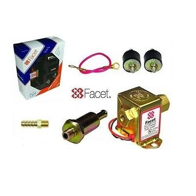 FACET Estado Sólido Cubo Bomba Eléctrica Combustible (2.5-3.5 Psi ) + Compatible