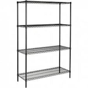 Black Wire Shelving from U-Line
