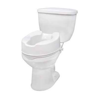 Raised Toilet Seat With Lock 12066 By Drive Medical
