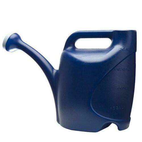 allen + roth 2-Gallon Watering Can 2-Gallon Navy Blue Plasti