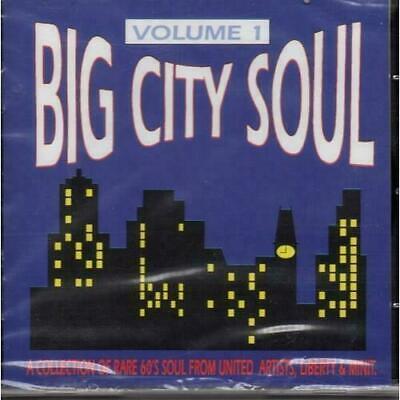 BIG CITY SOUL VOLUME 1 NEW & SEALED NORTHERN SOUL CD (GOLDMINE SOUL SUPPLY)