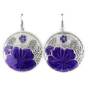 Antique Enamel Earrings