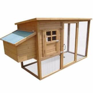 FREE SHIPPING - HUTCH / COOP WITH NEST BOX (LARGE) Sydney City Inner Sydney Preview