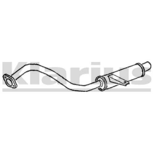 1x KLARIUS OE Quality Replacement Rear / End Silencer Exhaust For NISSAN, FORD