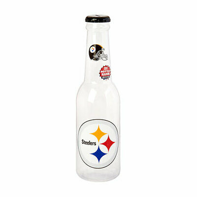 NFL Pittsburgh Steelers Bottle Bank, 21-Inch, Multi-Color Brand (Pittsburgh Steelers Bank)