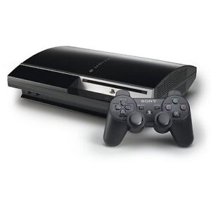Fat PS3 160GB Controller 4 Games Complete all cables