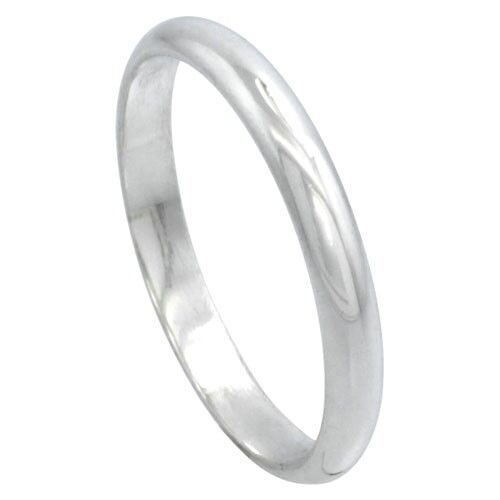 SOLID Sterling Silver Band Comfort Fit Ring Genuine 925 Wholesale Mens Womens
