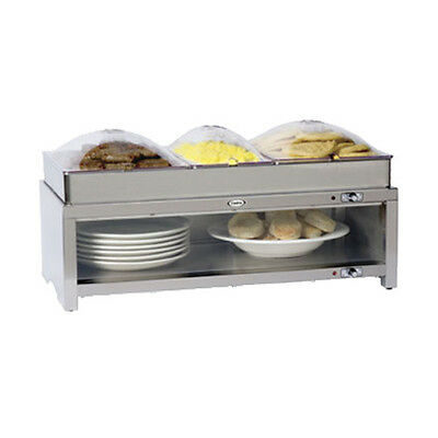 Cadco Cmlb-cslp 28 Buffet Warming Cabinet With Triple Buffet Server Top