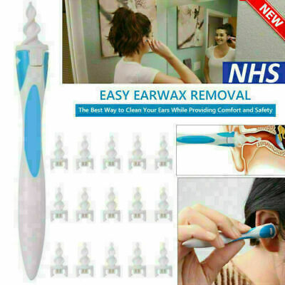17pc Ear Wax Removal Tool Ear Wax Cleaner Q-Grips Ear Wax Re