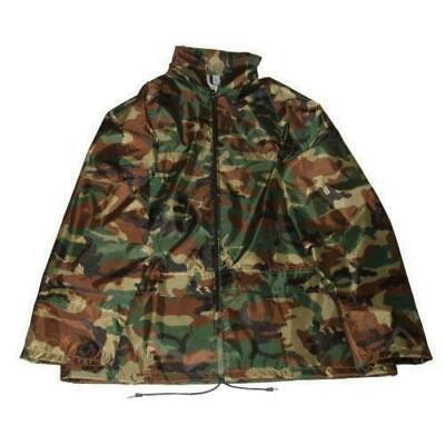 Kids Camo Water Resistant Rain Jacket