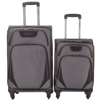 Kenneth Cole Departure Point 2-Piece Expandable Luggage Set