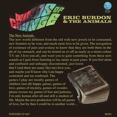 ERIC BURDON/ERIC BURDON & THE ANIMALS - WINDS OF CHANGE [DIGIPAK] NEW (Eric Burdon & The Animals Winds Of Change)