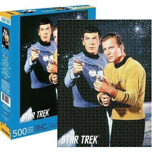 Star Trek Spock & Kirk 500-Piece Puzzle