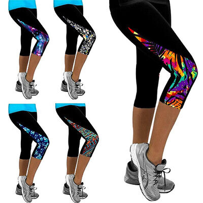 New Women Triangle Paneled Slimming Pants Leggings Running Yoga Sport Gym Pants Activewear