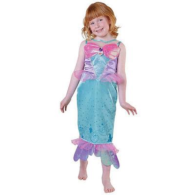 Superhero Costumes For Little Girls (NEW Disney Ariel Little Mermaid Royale Girls Fancy Dress Costume For Children)