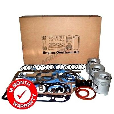 Engine Overhaul Kit Less Liners Fits Ford 4000 4600 4610 Tractors