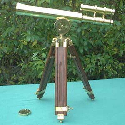S11 - Kleines Hafenmeister Teleskop mit Stativ, 30f