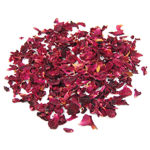 Fragrance Dried Rose Petals Flowers Natural Wedding Table Confetti Pot  BF