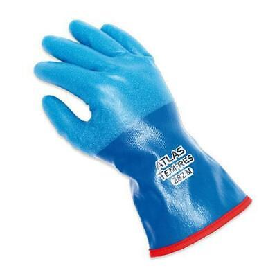 1 Pair Atlas Showa Temres 282 Liquid Proof Cold Weather Insulated Work Gloves