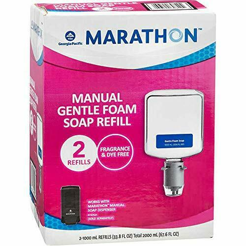 Marathon Manual Foam Soap Refill, 1000 mL, 2 ct (GP7671200)
