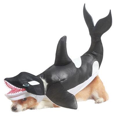 Killer Whale Dog Animal Planet Pet Halloween Costume - Animal Halloween Costumes For Dogs