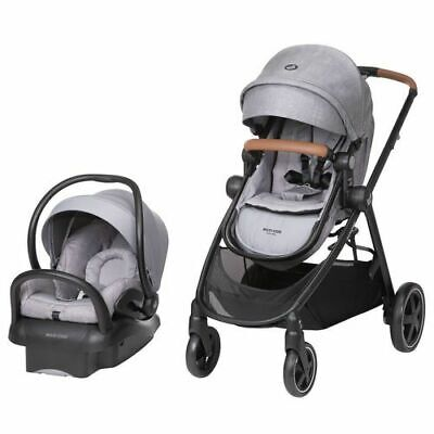 Maxi Cosi Zelia Max 5-in-1 Travel System - Nomad Gray