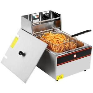 Commercial Electric Deep Fryer Single Tank  - FREE SHIPPING