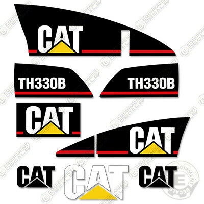 Caterpillar Th330b Decals Reproduction Telescopic Forklift Equipment Decals