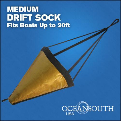"""32"""" Drift Sock Sea Anchor Drogue, Sea Brake Fits Boats Up To 20"""