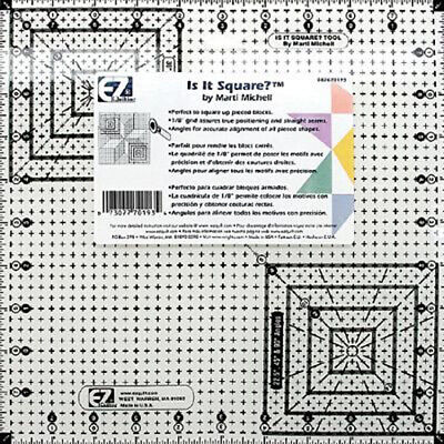 """EZ Quilting Is it Square? Ruler - 10.5"""" Quilting Template"""