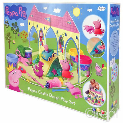 Peppa Pig Castle Dough Play Doh Set Activity Official Peppa Pigs