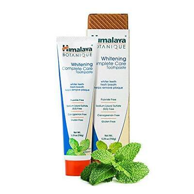Himalaya Whitening Toothpaste - Simply Peppermint 5.29 oz/150 gm (1 Pack),
