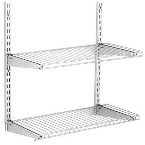 Corner Open Shelf Bookcase Rubbermaid Fasttrack Shelf Kit