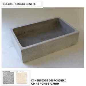 Lavelli in pietra lavelli per esterno da cm45 a cm80 vari colori levigato ebay - Lavandino esterno pietra ...