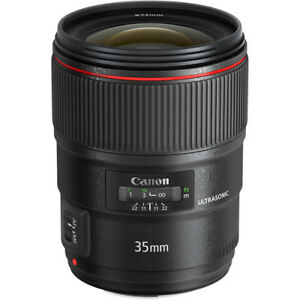 brand new Canon 35mm F1.4 II (never used)