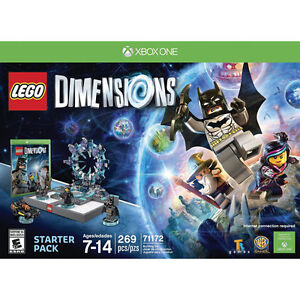 Wanted LEGO Dimensions Starter Pack for xbox one