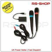 PS2 SingStar Microphones
