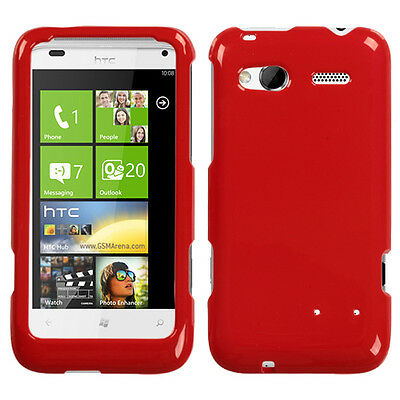 For HTC Radar 4G T-Mobile HARD Protector Case Snap on Phone Cover Flaming Red ()