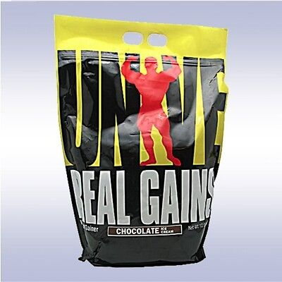 UNIVERSAL NUTRITION REAL GAINS  weight mass gainer whey prot