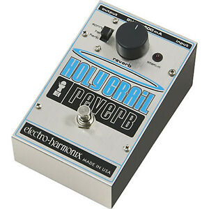 Early 00s EHX Holy Grail reverb pedal