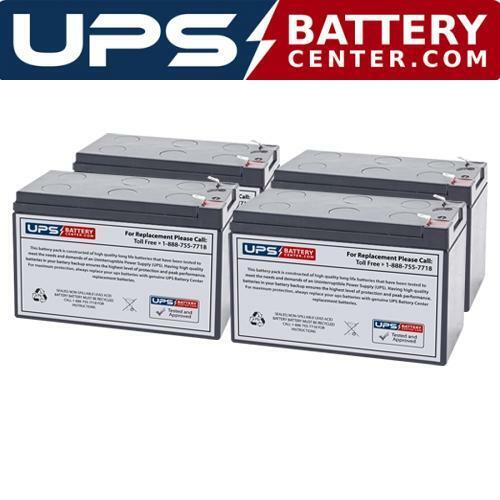 Eaton Powerware EBP-1002 Compatible Replacement Battery Set