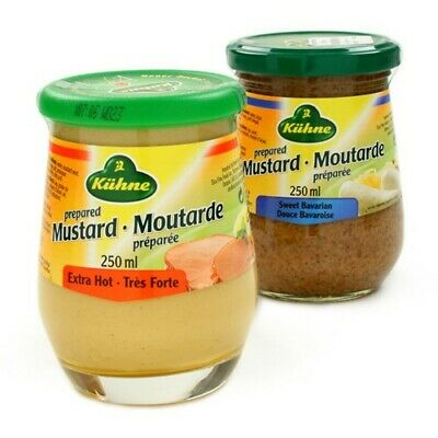 Kuhne German Mustard - Sweet (250 (German Mustard)
