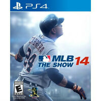 PS4 MLB 14 the show NEW