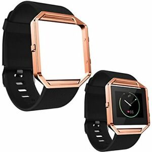 FitBit Blaze with Rose Gold Band