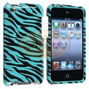 iPod Touch 4th Gen Hard Case Zebra