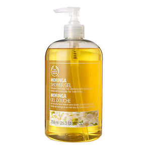 The Body Shop Jumbo Shower Gel, Moringa 25.36 fl oz (750 ml)
